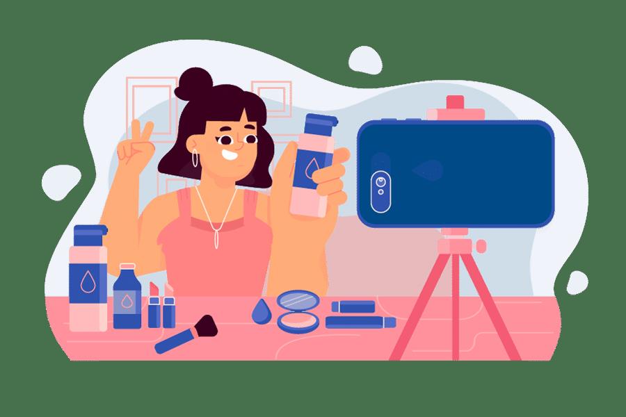 Nueva app Shoploop con influencers