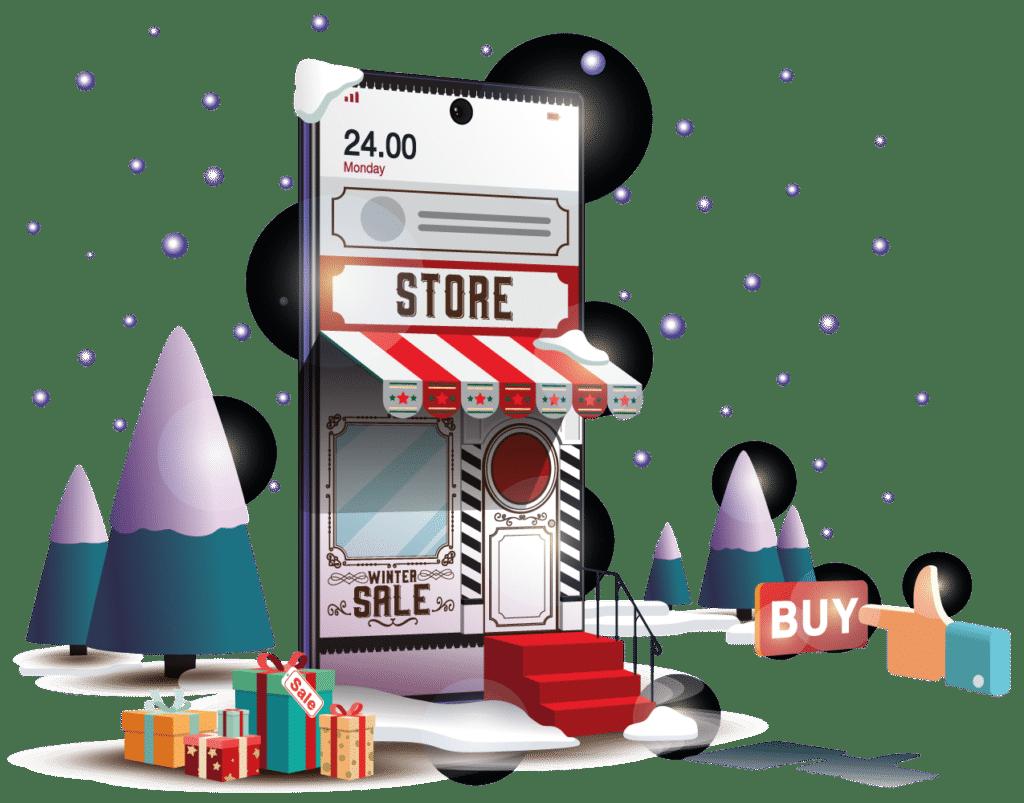 Ecommerce marketing digital en navidad