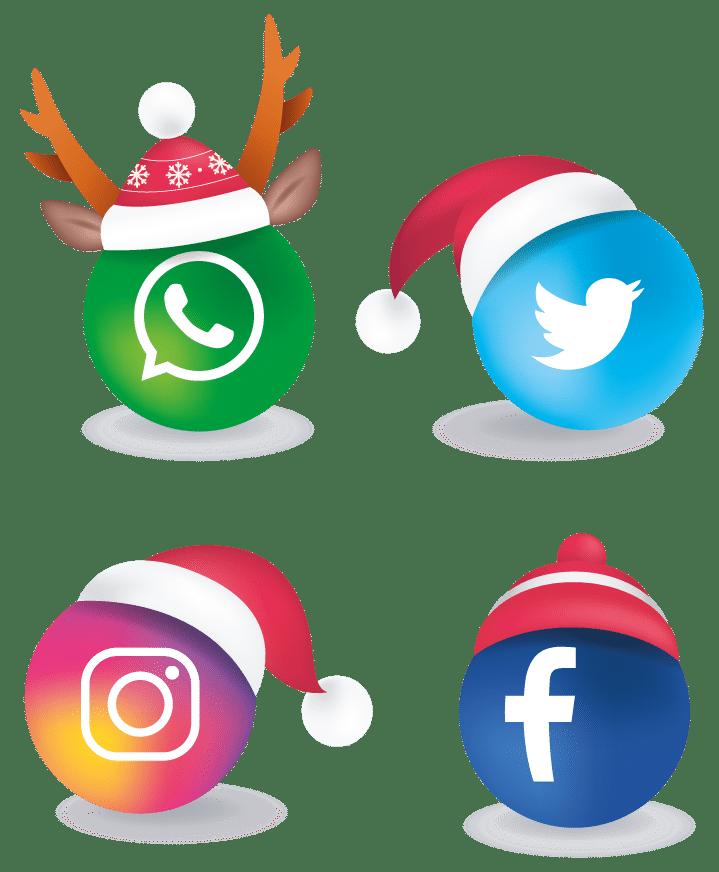 Marketing en redes sociales por navidad