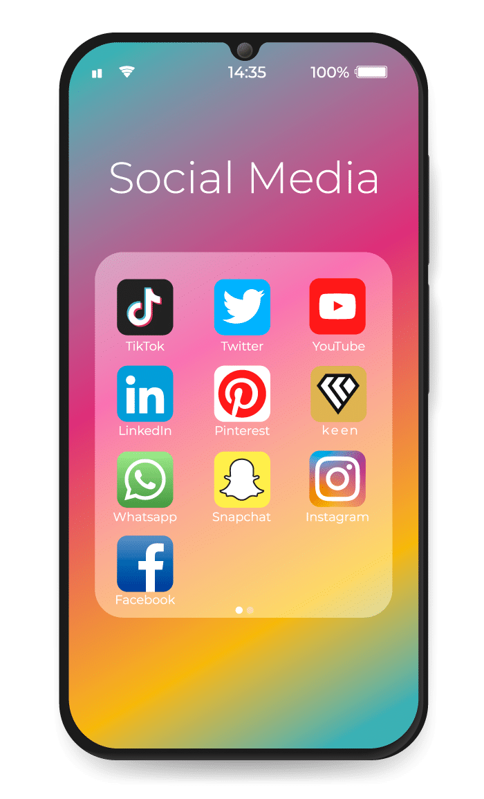 Spoiler Digital: social media Keen