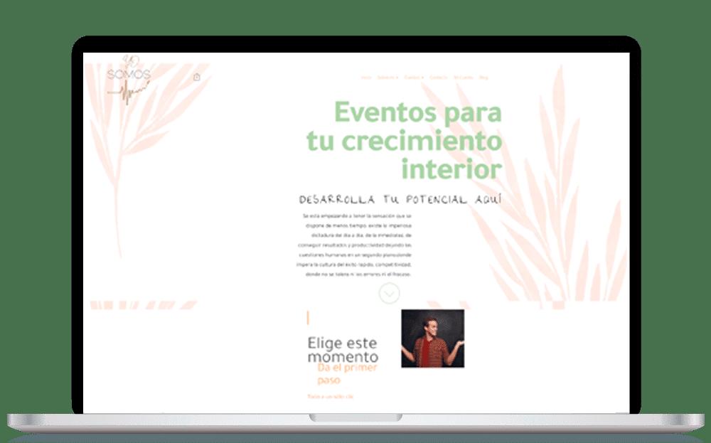 Imagen pantalla YoSomosEventos