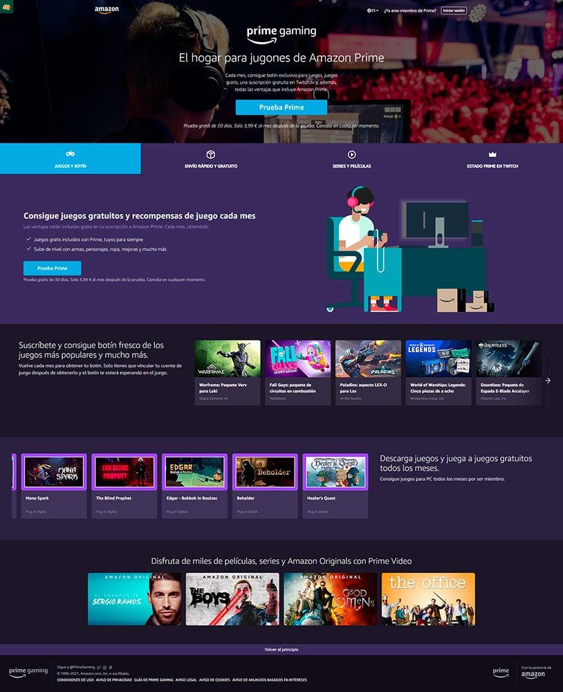 Spoiler Digital: prime gaming Twitch